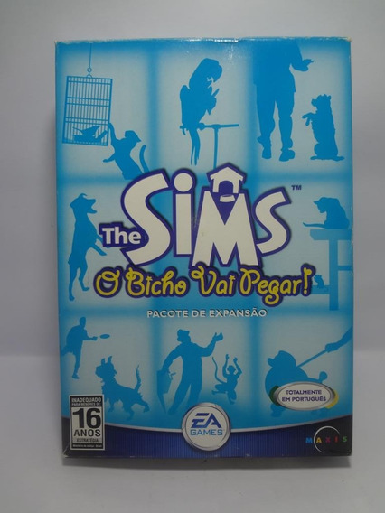 Jogo Game Pc The Sims O Bicho Vai Pegar