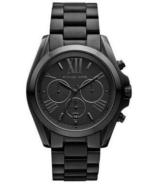 Relógio Michael Kors Mk5550 Preto Bradshaw Unisex