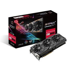 Placa De Video Gamer Vga Radeon 8gb Rx 580 Rog-strix-rx580