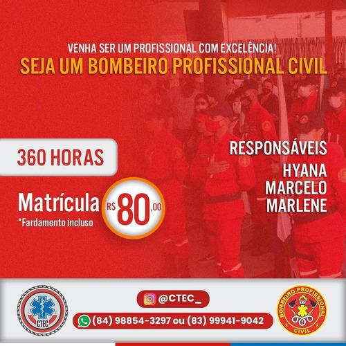Curso De Bombeiro Profissional Civil Santa Cruz Rn