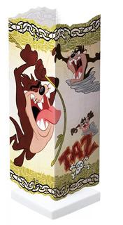 Abajur Criado Mudo Infantil Quarto Menino Taz Looney Tunes