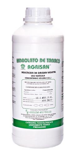 Insecticida Orgánico Extracto De Tabaco 1 Litro
