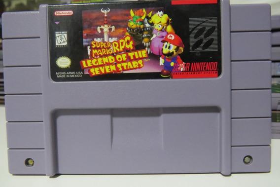 145 Super Mario Rpg Original Snes Cartucho Fita