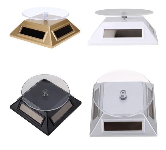 10 Exhibidores Giratorios Solar Mostrador Base Giratoria