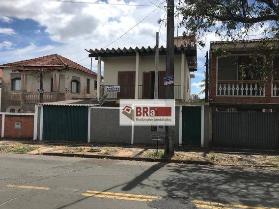 Casa Com 3 Dormitórios Para Alugar, 289 M² Por R$ 1.800,00/mês - Nova Campinas - Campinas/sp - Ca0240