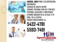 Agencia Jireh Te Ofrece Los Mejores Perfiles De Enfermeras