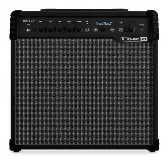 Ftm Line 6 Spider V 60 - Amplificador Combo Guitarra Fxs - 1
