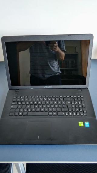 Notebook Asus X751lj Core I5, 8gb, Geforce 920m, 240gb Ssd