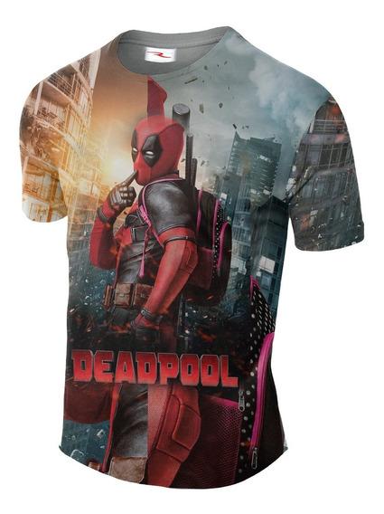 Remera Sublimada Deadpool Ranwey Cs211