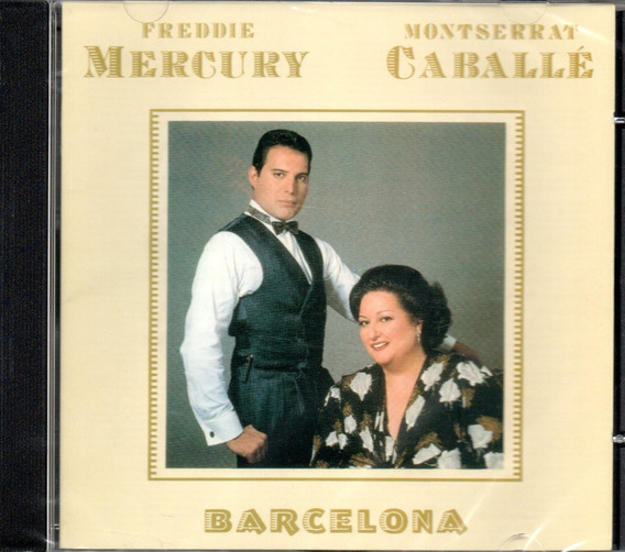 Cd Freddie Mercury E Montserrat Caballé - Barcelona