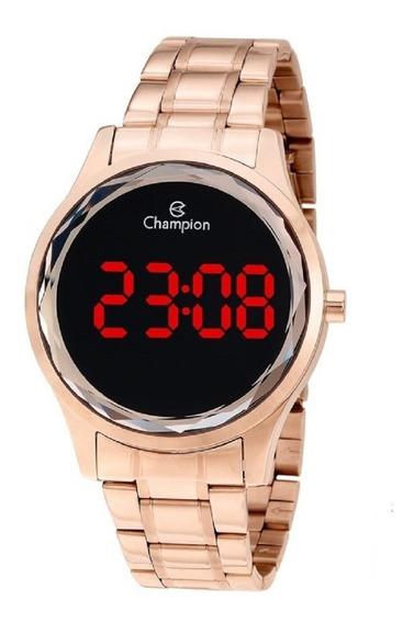 Relógio Champion Lançamento Digital Rose Redondo Cx E N.f.
