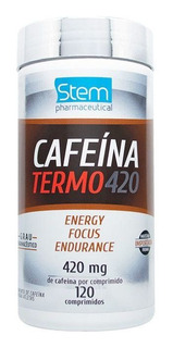 Cafeína - Power 420mg - 120 Comprimidos