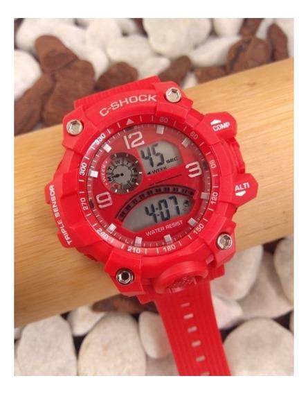 Relógio Digital C-shock Vermelho 4310