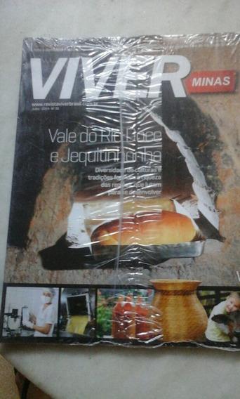 Revistas Viver Minas/viver Brasil Pacote Lacrado