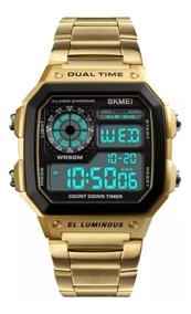 Relógio Digital Skmei 1335 Inoxidável A Prova Dagua