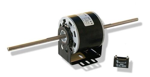 Motor Kielmann 1/8hp; 2ejes 230v 1550rpm (abierto Con Base)