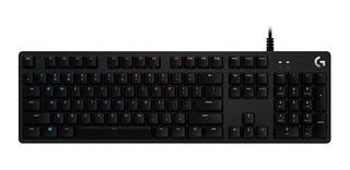 Teclado Gamer Logitech G512 Mecánico Rgb Lightsync Pce