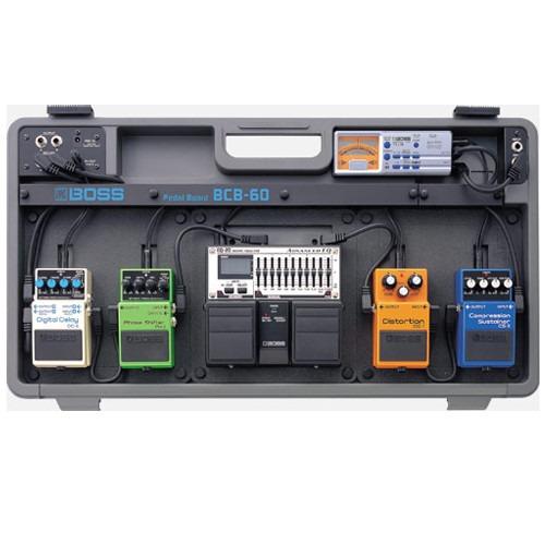 Case Para 6 Pedais Boss Bcb60 Hard Case