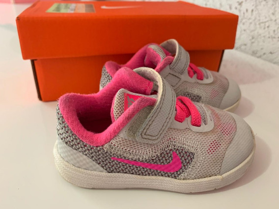 Tênis Nike Infantil Feminino Original Numero 20