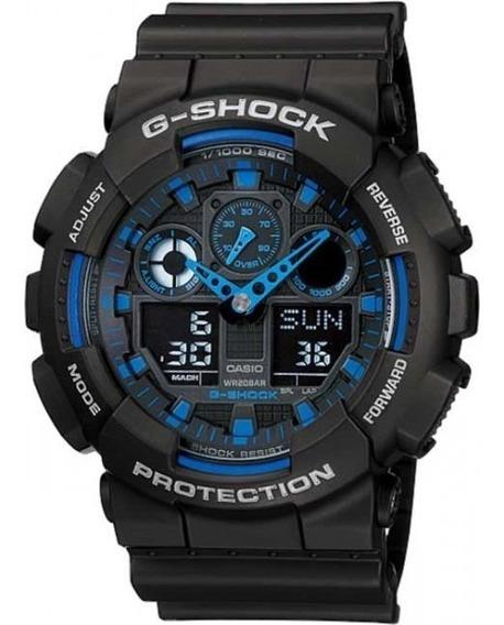 Relogio Masculino G-shock Ga-100-1a2dr - Frete Gratis