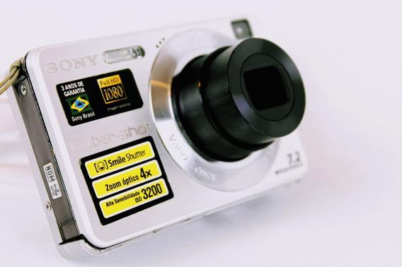 Câmera Fotográfica Sony Cyber-shot Dsc-w110