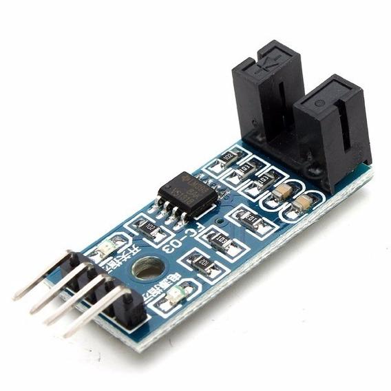 Sensor De Velocidade Arduino Chave Óptica Para Encoder 5mm