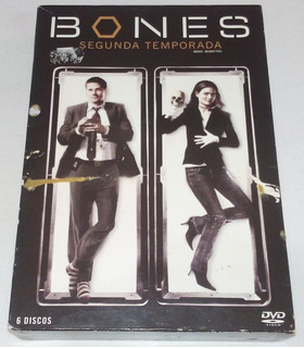 Dvd Série Bones 2ª Segunda Temporada Completa 6 Discos 2007