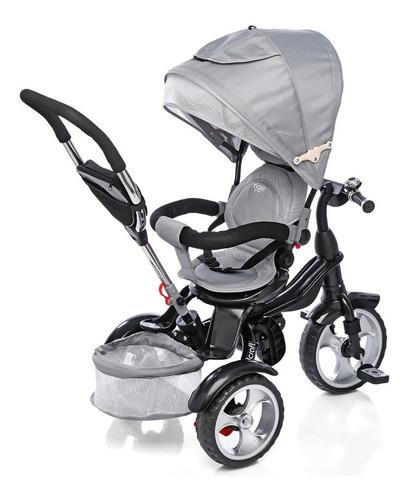 Triciclo Infantil Bebe Asiento Gira 360 Manija Direccional
