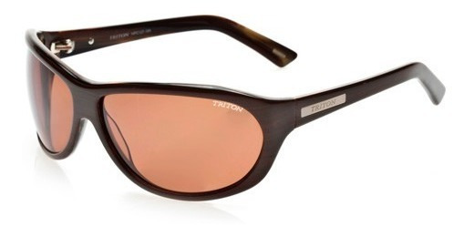 Óculos Triton Hpc127 - Feminino - Marrom - 12x Sem Juros