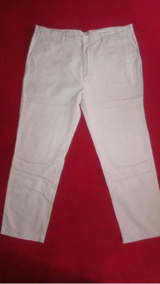 Pantalon De Vestir Lacoste Hombre Color Arena. - Talle 52