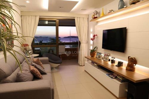 Apartamento Com 3 Quartos, 126 M² Por R$ 1.950.000 - Charitas - Niterói/rj - Ap46385