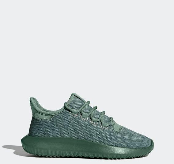 Tenis adidas Tubular Shadow Para Niño Verde Militar Talla 21