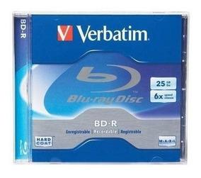 Blu-ray Virgem 25gb 6x Verbatim