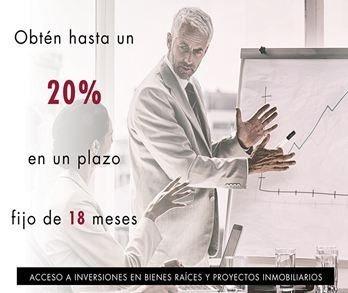Te Invitamos A Invertir En Bienes Raíces (13.33% Anual)