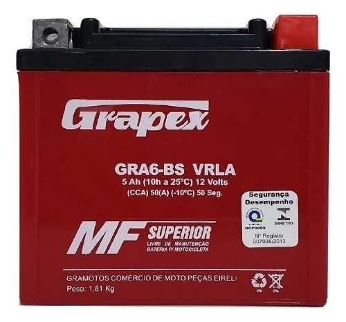 Bateria 5ah Moto Gel Honda Xre 300 Bros 125 150 160 Xre 190