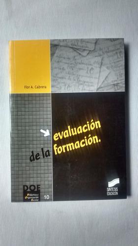 Evaluacion De La Formacion Flor A. Cabrera Ed. Sintesis