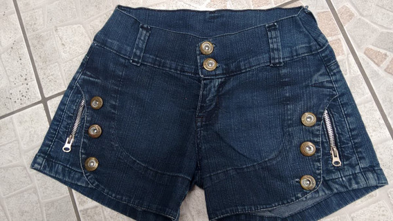 1 Shorts Jeans Feminino Narrara 36- Usado