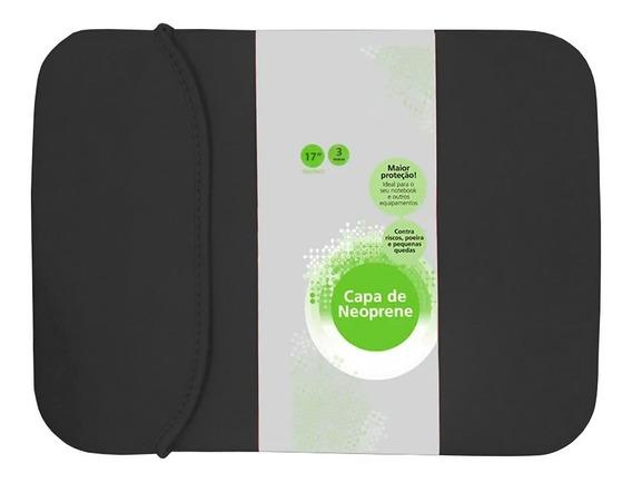 Capa Case Notebook Macbook 17 Polegadas Universal Dupla Face Neoprene Asus Dell Samsung Apple Hp Acer Positivo Ac38