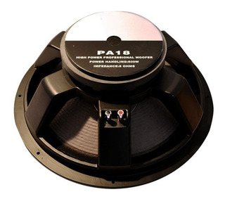 Subwoofer Xpro Pa18 Woofer 600 Watts Rms Grave Gbr 18 Jahro