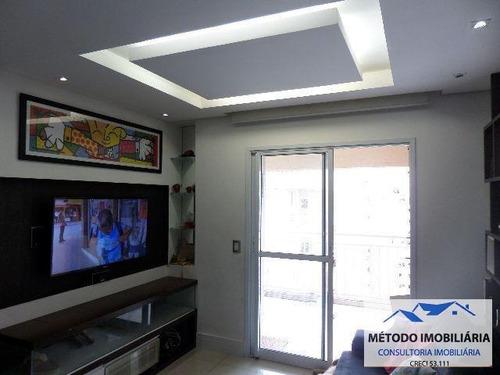 Imagem 1 de 15 de Apartamento Para Venda Em Santo André, Campestre, 3 Dormitórios, 1 Suíte, 2 Banheiros, 2 Vagas - 11775_1-689966