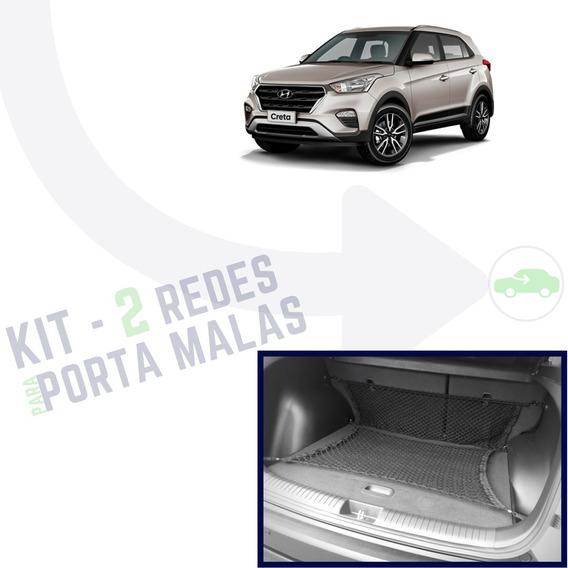 Combo 2 Redes Para O Porta Malas Hyundai Creta 2017 2018 19