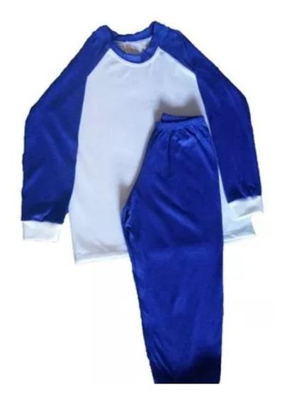12 Pijamas Longo Infantil Unissex Sublimação- 2 A 12 Anos!