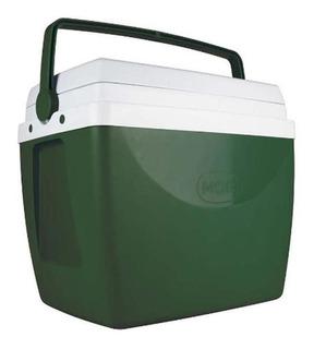 Caixa Térmica Glacial Mor 34 Litros Verde Escuro