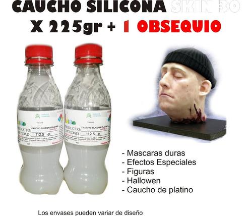 Caucho Silicona Liquido Moldes Skin 30 X 225gr Mascaras
