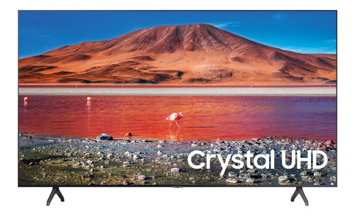 Imagen 1 de 9 de Smart Tv 43 Samsung 4k Crystal Series 7 Un43tu7000fxza