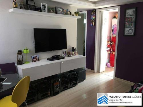 Apartamento Para Venda Em São Bernardo Do Campo, Cooperativa, 2 Dormitórios, 1 Banheiro, 1 Vaga - L3_2-1145674