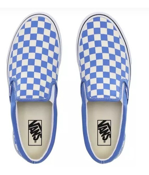 Tenis Vans Classics Cuadros Originales Checkerboard Slip-on