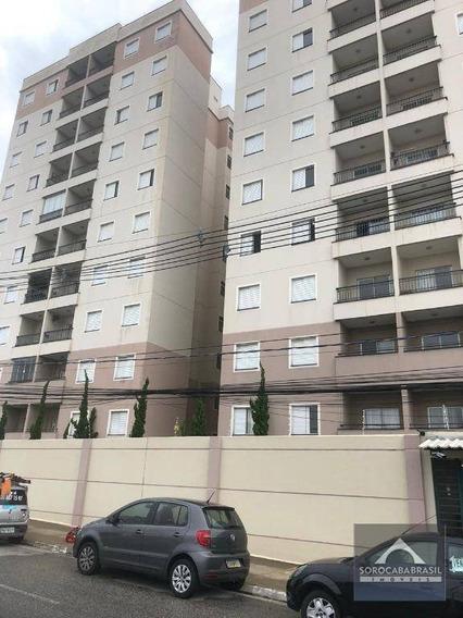 Oportunidade Apartamento Com 2 Dormitórios À Venda, 60 M² - R$ 220.000 - Edifício Villa Sunset - Sorocaba/sp, No Campolim Próximo Ao Shopping Iguatemi - Ap0403