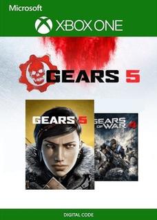 Gears Of War 5 + Gears 4 **códigos Originales**