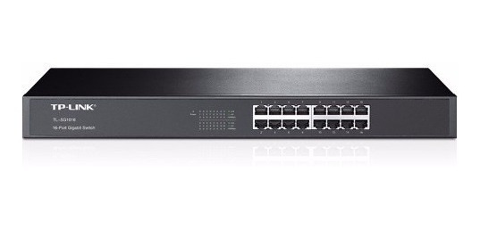 Switch 16p Tp-link Sg1016 Gigabit Rack Rj45 10/100/1000